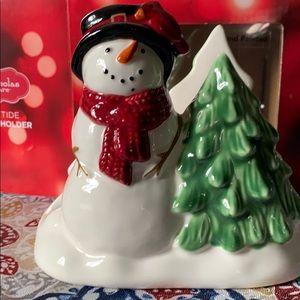 Yuletide Christmas Napkin Holder NIB